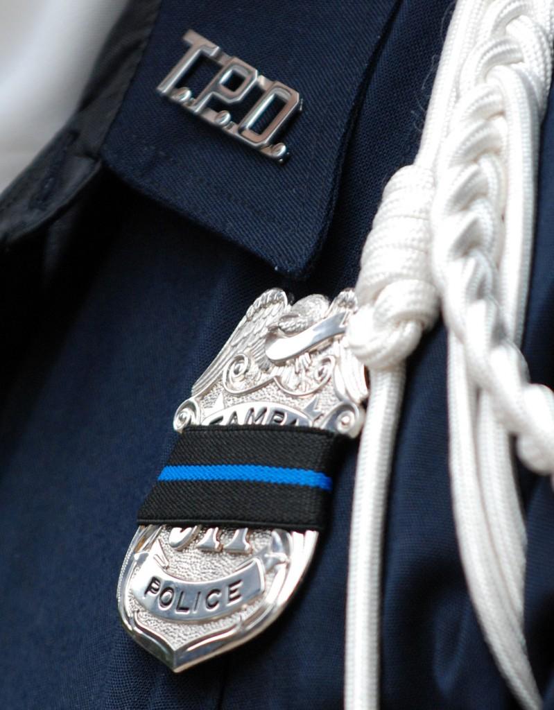 Black Shield Police Police Badges Had a Black
